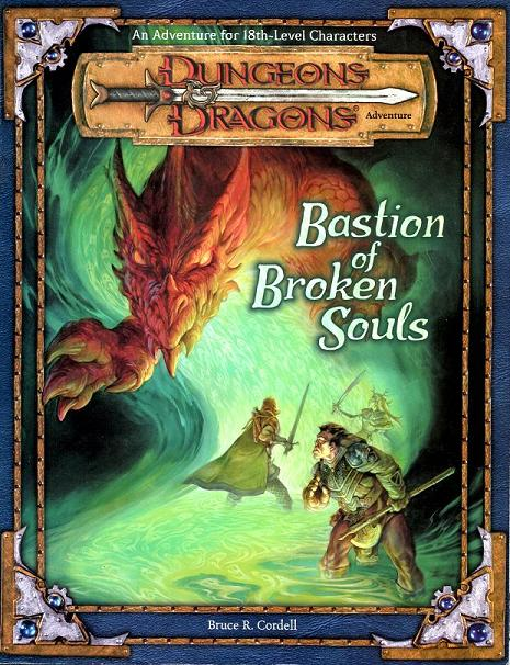 Cover of Bastion of Broken Souls